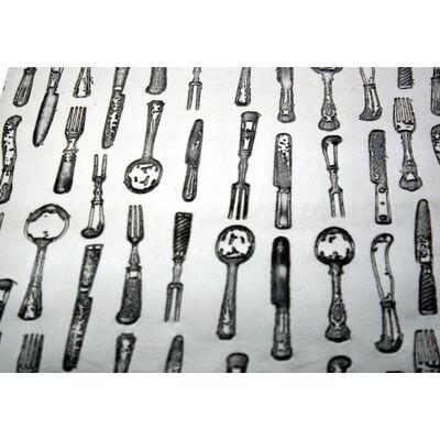 Knife Forks Spoon Pocket Flask 3oz