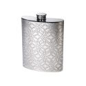 Triquetra Pewter Pocket Flask 6oz