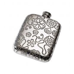 Yorkshire Rose Pocket Flask