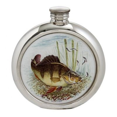 Perch Round Picture Flask