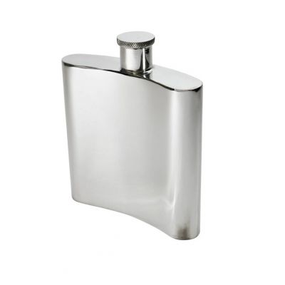 Plain Kidney Flask 26oz