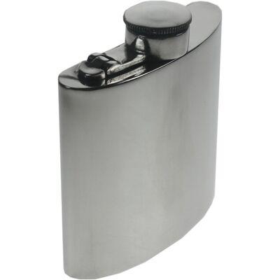 Plain Kidney Hip Flask With Captive Top 4oz