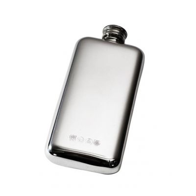 Plain Pocket Flask 3oz