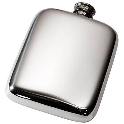 Plain Pocket Flask 4oz