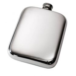 Plain Pocket Flask 6oz