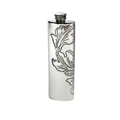 Acanthus Purse Flask