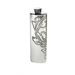 Acanthus Purse Flask